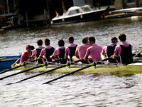Henley university boat races on thames