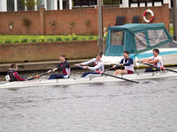 Burway rowing race head division 3 on thames